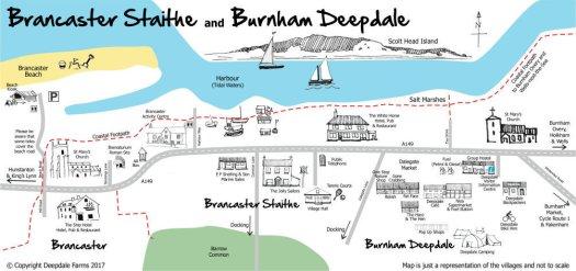 Brancaster Staithe & Burnham Deepdale, North Norfolk Coast, England